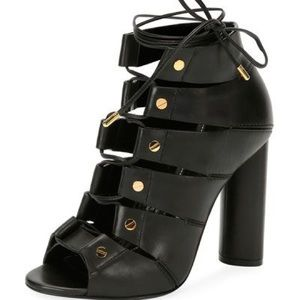 Tom Ford LaceUp Bootie Sandal 39.5/9.5 Send Offers
